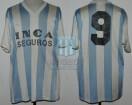 Racing Club - 1990 - Home - Adidas - Inca Seguros - Gira Africa - F. Lanzidei
