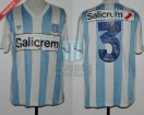 Racing Club - 1990 SC - Home - Adidas - Salicrem - Supercopa vs Olimpia - S. Miguez