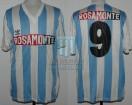 Racing Club - 1991 AP - Home - Adidas - Rosamonte - 18va Fecha vs F. C. Oeste - J. Fleita
