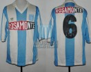 Racing Club - 1991 AP - Home - Adidas - Rosamonte - 15ta Fecha vs GELP - N. Fabbri