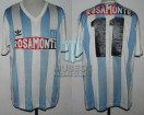 Racing Club - 1991 AP - Home - Adidas - Rosamonte - 17ma Fecha vs Velez Sarsfield - L. Carranza
