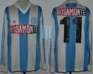 Racing Club - 1991 LG - Home - Adidas - Rosamonte - Liguilla vs Boca Jrs. - N. Ortega Sanchez
