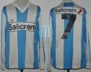 Racing Club - 1991 LG - Home - Adidas - Salicrem - Liguilla vs Velez (IDA) - W. Parodi