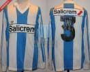 Racing Club - 1991 LG - Home - Adidas - Salicrem -  Liguilla vs Velez (Vuelta) - S. Miguez