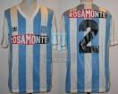 Racing Club - 1992 CL - Home - Adidas - Rosamonte - 1ra Fecha vs Dep. Mandiyu - S. Vazquez