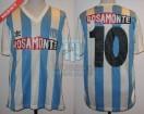 Racing Club - 1992 CV - Home - Adidas - Rosamonte - Copa Libertad vs Sion - R. Paz