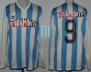 Racing Club - 1992 CM - Home - Adidas - Rosamonte - Copa Masters vs Cruzeiro - L. Carranza