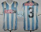 Racing Club - 1992 CL - Home - Adidas - Rosamonte - Torneo Clausura - J. Distefano