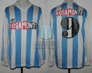 Racing Club - 1993 AP - Home - Adidas - Rosamonte - 2da Fecha vs Deportivo Español - N. De Vicente