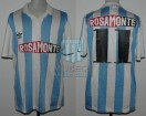 Racing Club - 1993 SC - Home - Adidas - Rosamonte - 1ra fase vs Nacional - C. Lopez