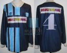 Racing Club - 1995 CL - Away - Adidas - Multicanal - 13ra Fecha vs Banfiled - N. Clausen
