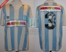 Racing Club - 1994 AP - Home - Adidas - Multicanal - 18va vs Argentinos - J. Reinoso