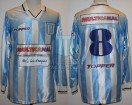 Racing Club - 1996 CL - Home - Topper - Multicanal - 17ma Fecha vs Boca Jrs. - G. Chacoma