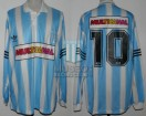Racing Club - 1995 CL - Home - Adidas - Multicanal - 16ta Fecha vs GELP - N. De Vicente