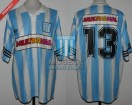 Racing Club - 1995 CL - Home - Adidas - Multicanal - 13ra Fecha vs R. Central - C. Zaccanti