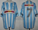 Racing Club - 1995 CL - Home - Adidas - Multicanal - 6ta Fecha vs Talleres Cba. - C. Garcia