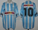 Racing Club - 1995 CL - Home - Adidas - Multicanal - 10ma Fecha vs Velez - R. Galarza