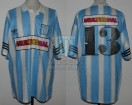 Racing Club - 1995 CL - Home - Adidas - Multicanal - 10ma Fecha vs Velez - C. Zaccanti