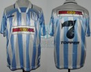 Racing Club - 1995 AP - Home - Topper - Multicanal - 17ma Fecha vs Boca Juniors - M. Delgado