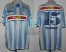 Racing Club - 1995 AP - Home - Topper - Multicanal - 18va Fecha vs GELP - J. Fleita