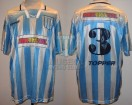 Racing Club - 1995 AP - Home - Topper - Multicanal - 14ta Fecha vs Ferro - S. Zanetti