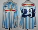 Racing Club - 1995 SC - Home - Topper - Multicanal - Supercopa IDA vs Gremio - C. Galvan