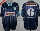 Racing Club - 1996 CL - Away - Topper - Multicanal - 9na vs Estudiantes LP - C. Ubeda