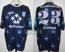Racing Club - 1997 LIB - Away - Topper - Multicanal - Semi vs Sp. Cristal - H. Gonzalez
