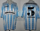 Racing Club - 1997 TV - Home - Topper - Multicanal - Copa de Oro Mar del Plata vs Boca Jrs - G. Chacoma