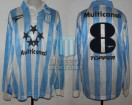 Racing Club - 1997 CL - Home - Topper - Multicanal - 16ta Fecha vs Boca Juniors - M. Delgado