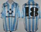 Racing Club - 1997 LIB - Home - Topper - Multicanal - R8 Copa Libertadores IDA vs River Plate - M. Vilallonga