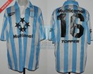 Racing Club - 1997 SC - Home - Topper - Multicanal - 6ta vs Santos FC - S. Zanetti