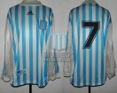 Racing Club - 1998 AP - Home - Adidas - 6ta Fecha vs Ferro Carril Oeste - P. Michelini