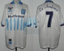 Racing Club - 1998 CL - Home - Taiyo - Multicanal - CL 98 - M. Delgado
