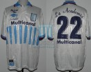 Racing Club - 1998 CL - Home - Taiyo - Multicanal - 7ma Fecha vs River Plate - M. Estevez