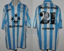 Racing Club - 1998 TV - Home - Topper - Multicanal - Copa de Oro / Campeon - N. Diez