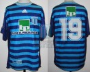Racing Club - 1999 AP - Away - Adidas - Banco Provincia - 15ta vs Gimnasia Jujuy - S. Peralta