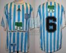 Racing Club - 2000 CV - Home - Adidas - Banco Provincia - Copa de Oro vs Boca Jrs. - C. Ubeda