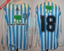 Racing Club - 1999 AP - Home - Adidas - Banco Provincia - 9na vs Estudiantes LP - M. Zanello