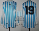Racing Club - 1999 AP - Home - Adidas - 5ta Fecha vs San Lorenzo - S. Peralta