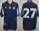 Racing Club - 2001 CL - Away - Adidas - L. Rueda