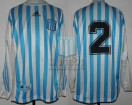 Racing Club - 2000 CL - Home - Adidas - 19na Fecha vs GELP - H. Banegas