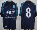Racing Club - 2002 CL - Away - Topper - Sky - G. Barros Schelotto