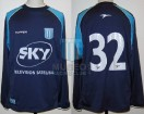 Racing Club - 2002 CL - Away - Topper - Sky - L. Tambussi