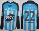 Racing Club - 2001 AP - Home - Topper - Sky - 5ta Fecha vs Talleres - C. Estevez
