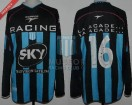 Racing Club - 2001 AP - Away - Topper - Sky - 6ta Fecha vs Belgrano - G. Bedoya