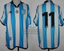 Racing Club - 2001 CL - Home - Adidas - 3ra Fecha vs San Lorenzo - D. Milito