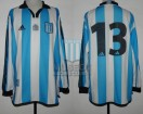 Racing Club - 2001 CL - Home - Adidas - Torneo Clausura de Reserva - O. Barsottini