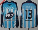 Racing Club - 2001 AP - Home - Topper - Sky - 5ta Fecha vs Talleres - G. Loeschbor
