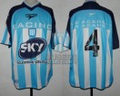 Racing Club - 2001 AP - Home - Topper - Sky - Campeon - 19na Fecha vs Velez Sarsfield - C. Arano